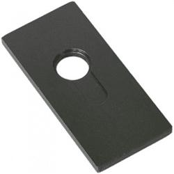 Plancha de base para cilindros perfil europeo